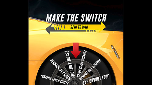 Spin to Win Sweepstakes
