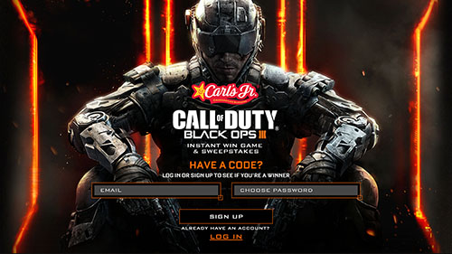 Call of Duty Black Ops III Sweepstakes